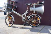 Fahrrad kann auch laut